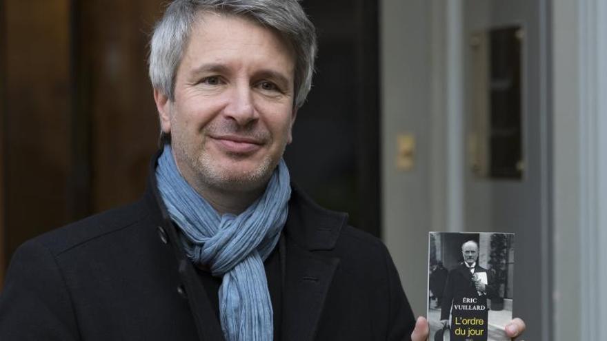 El Goncourt corona a Éric Vuillard por una obra sobre el ascenso del nazismo