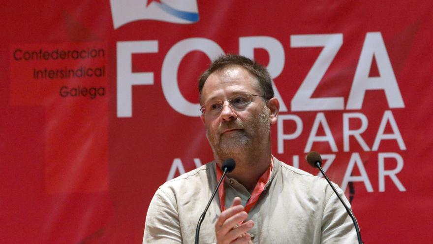 """Carril, reelegido al frente de la CIG, llama a """"consolidar"""" la posición de primera fuerza sindical en Galicia"""