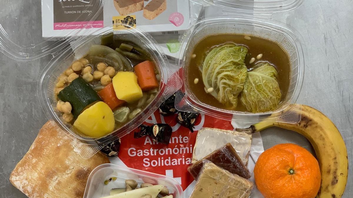 Uno de los menús completos que entregará Alicante Gastronómica