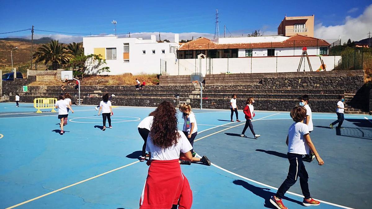 Centro de Enseñanza Infantil y Primaria Machado, en El Rosario. | | E.D.
