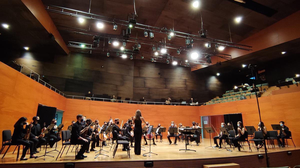 La Orquestra Simfònica.