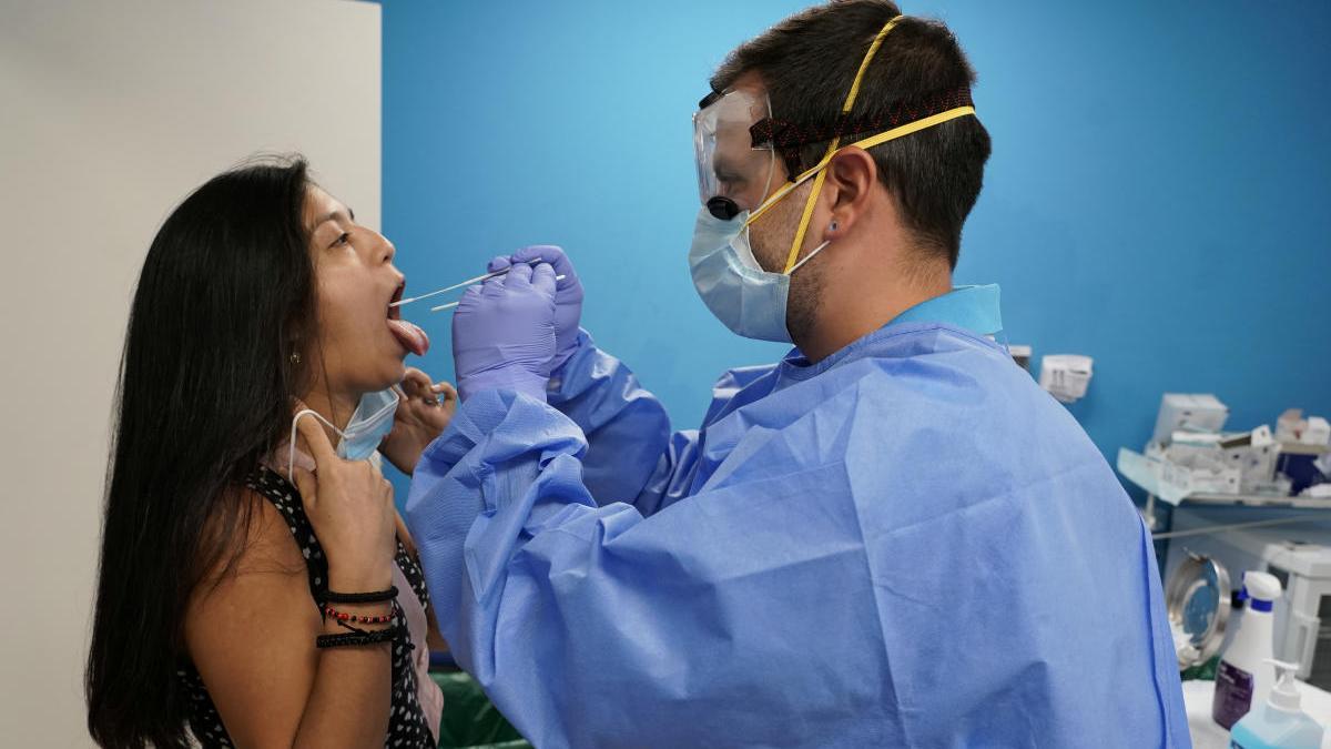 Test de coronavirus.