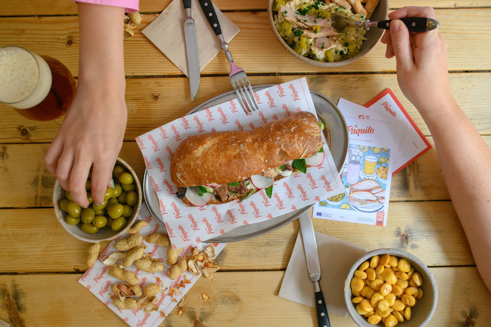 Ruta almuerzo Valencia: 20 bares ofrecen su versión de 'El Paquito'