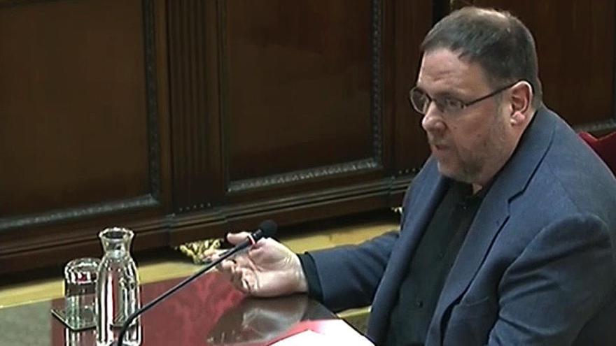 El TC desestima el recurso de Junqueras pero rompe su unanimidad