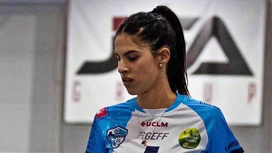 Paola Martínez Vela, la más valiosa de la élite del voleibol en España