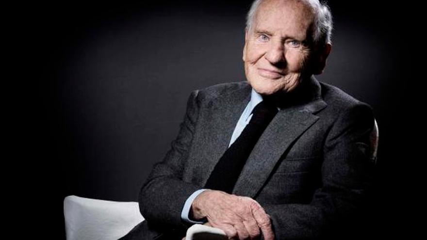 Muere Jean d'Ormesson,  la sonrisa epicúrea de las letras francesas