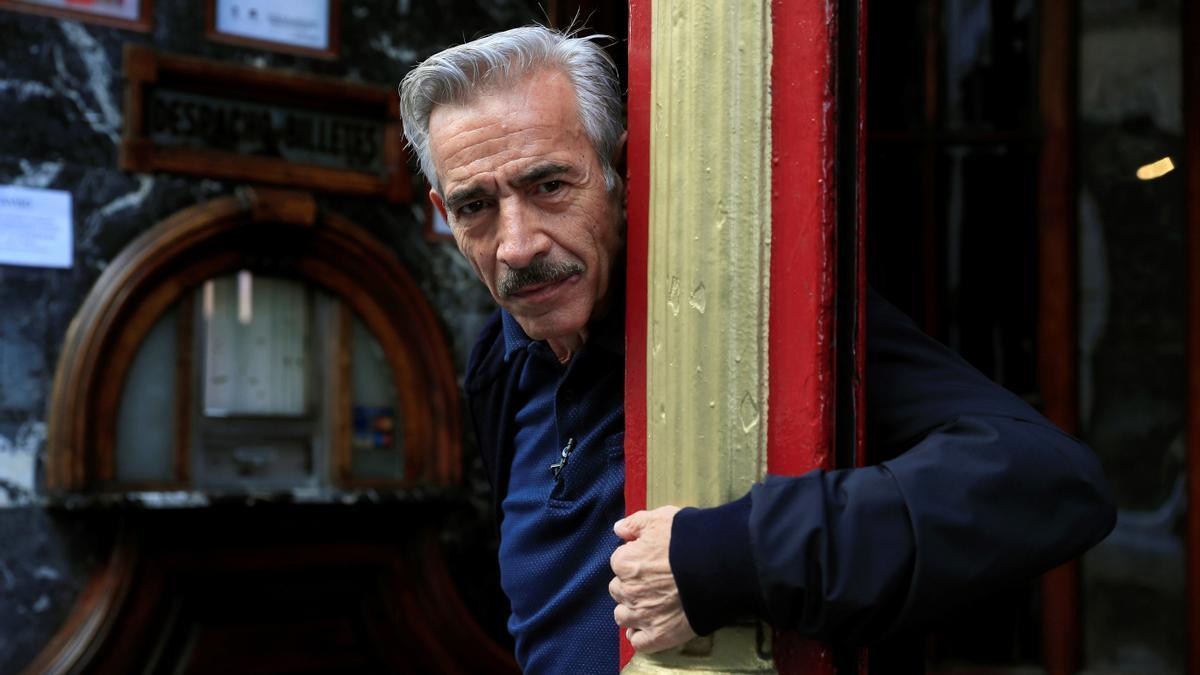 The actor, Imanol Arias.