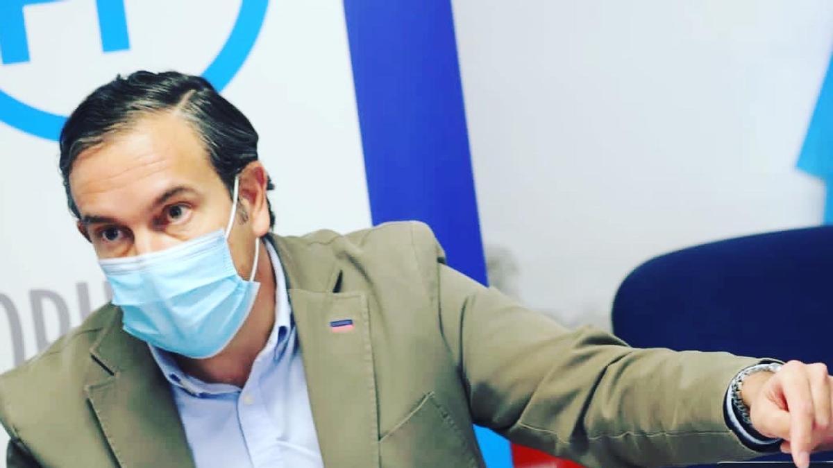 The deputy of the PP Fernando Pastor