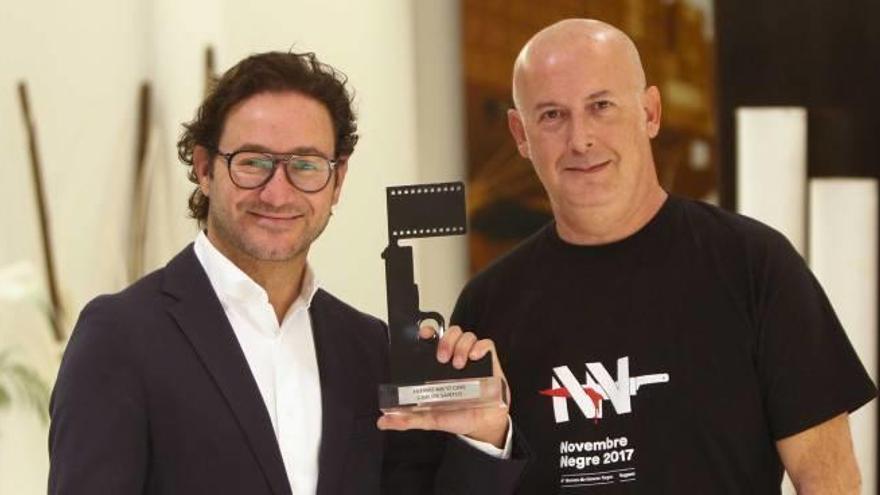 Novembre Negre premia al actor Carlos Santos