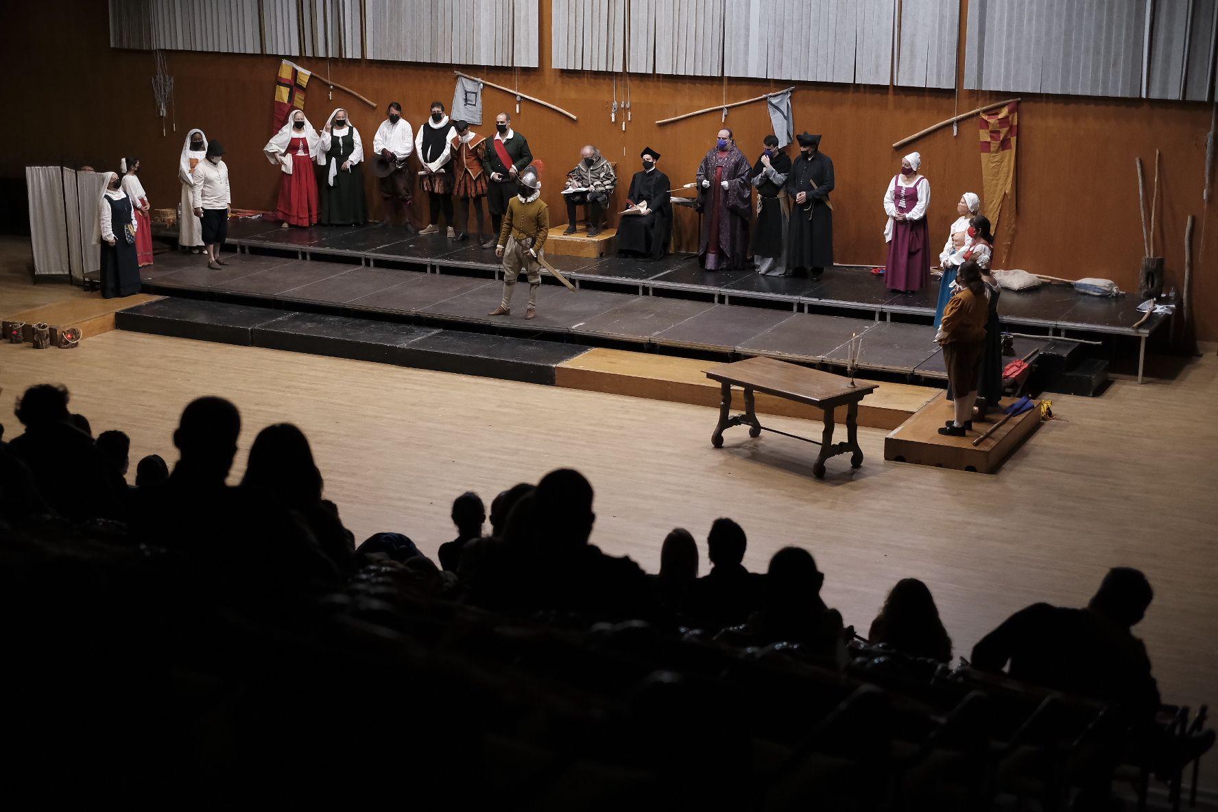 Obra de teatro en la Casa de Colón sobre la batalla contra Francis Drake