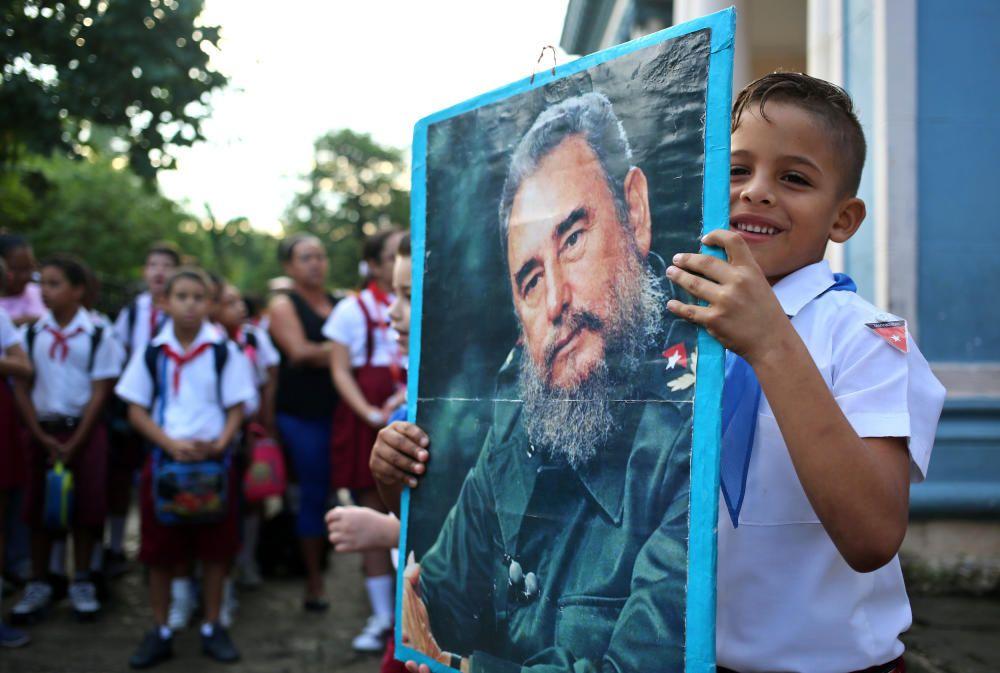 Un año sin Fidel, Cuba evoca su figura con ...