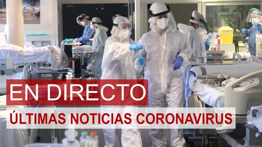 Última hora del coronavirus en la Comunidad Valenciana: sigue en directo las noticias de hoy