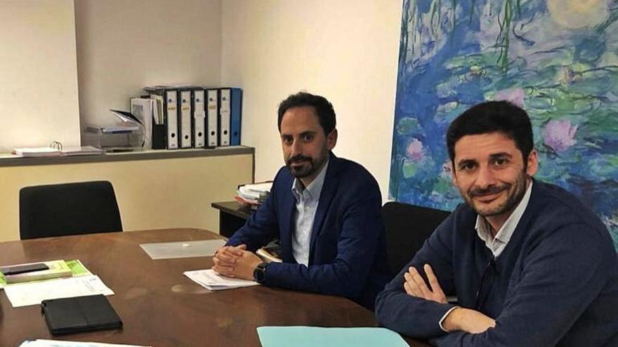 Fernando Ribot y Baltasar Pons: «Hemos sido los sanitarios más cercanos al paciente»