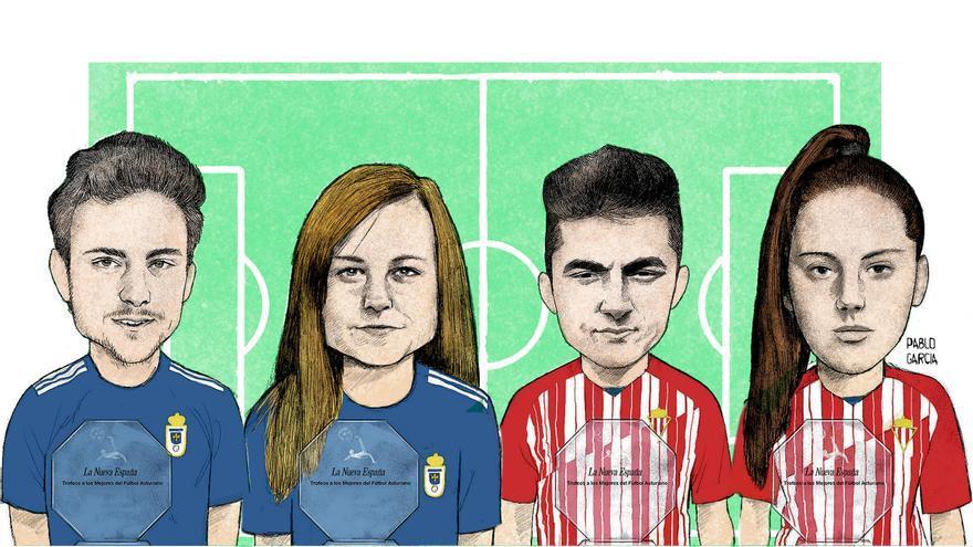 Trofeo LA NUEVA ESPAÑA, los mejores del fútbol asturiano