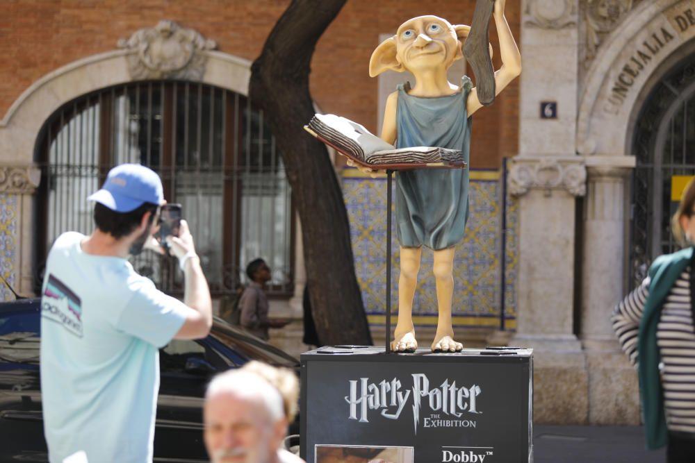 Las esculturas del universo Harry Potter toman Valencia
