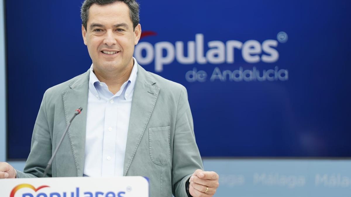 Intervención de Juanma Moreno en la Junta Directiva Autonómica del  PP Andaluz.