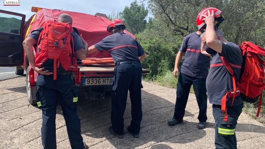 Rescate de un senderista con problemas para respirar en Artana