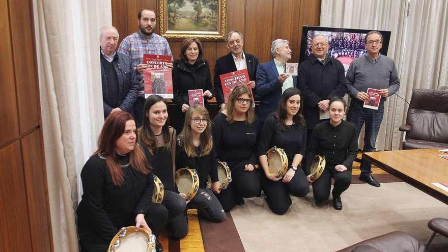 La Real Banda ofrece el Concierto de Fin de Año en la iglesia de la Veracruz con la participación de 100 músicos