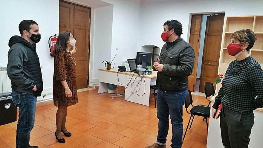 Toro traslada al palacio de los Condes de Requena cinco servicios municipales