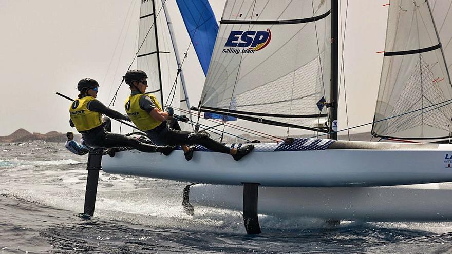 Lo más alto del podio espera a Tara Pacheco en Lanzarote