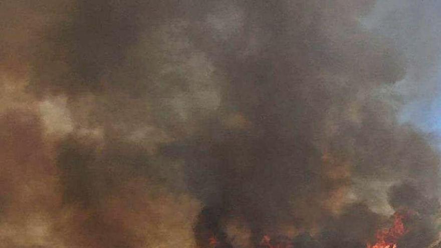 Cuatro años de la tormenta de fuego perfecta en Xàbia