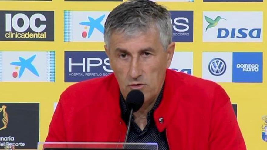 """Quique Setién no renovará con Las Palmas por """"diferencias insalvables"""""""