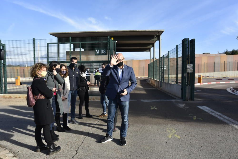 Els presos del procés surten de la presó de Lledoners aquest 29 de gener