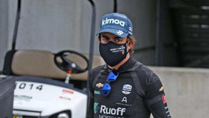 Alonso arranca quinto los entrenamientos de las 500 Millas de Indianápolis