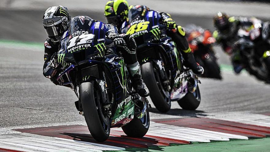 Motociclisme Viñales és desè en un GP d'Àustria accidentat