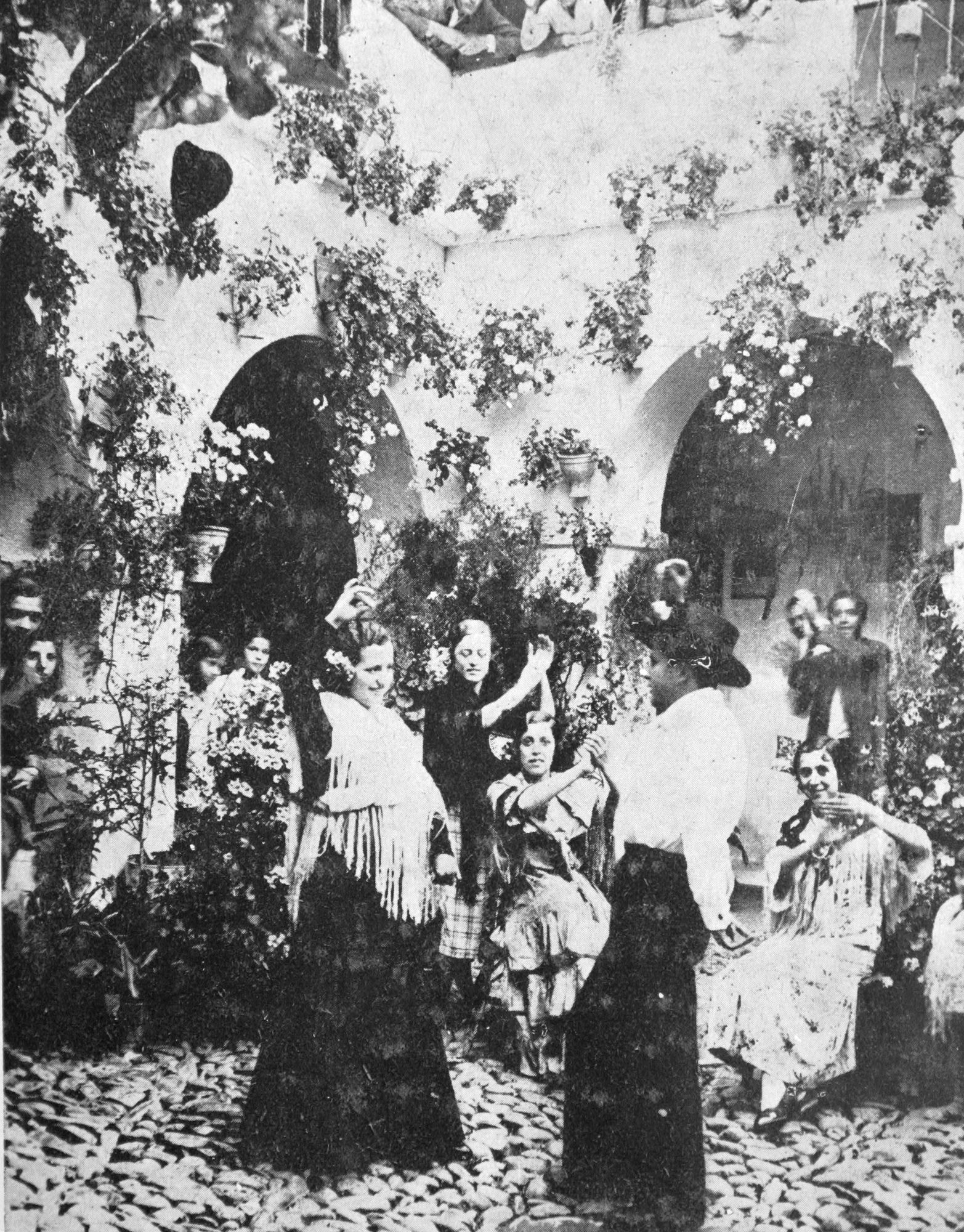 Participante de la calle Mayor de Santa Marina ganador del concurso de 1935