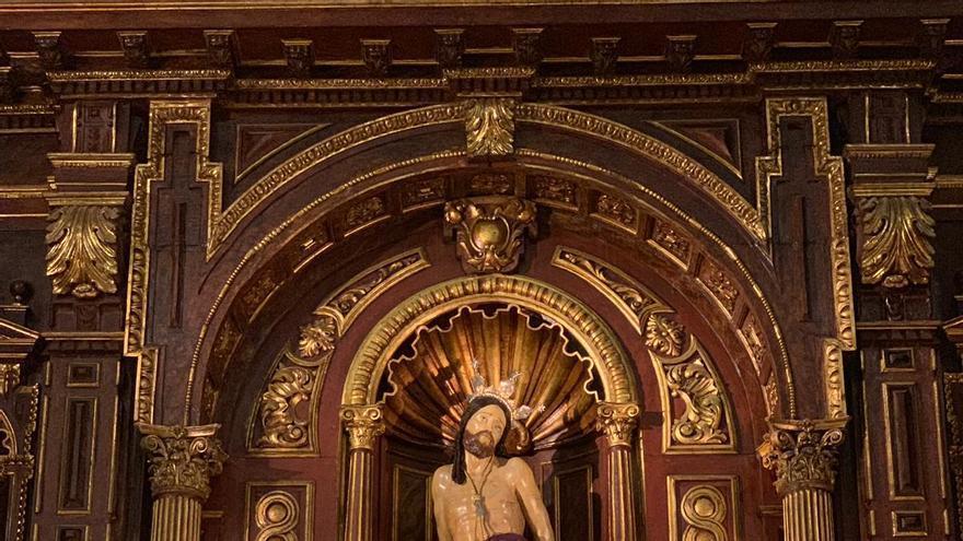 El Santo Cristo de la Salud presidirá el Vía Crucis oficial de la próxima Cuaresma, que será claustral