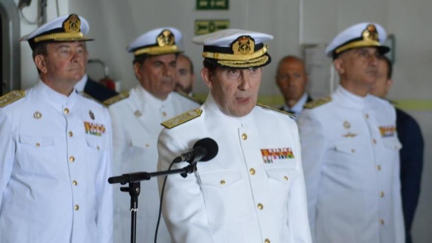 El Gobierno nombra al almirante Antonio Martorell nuevo jefe de la Armada