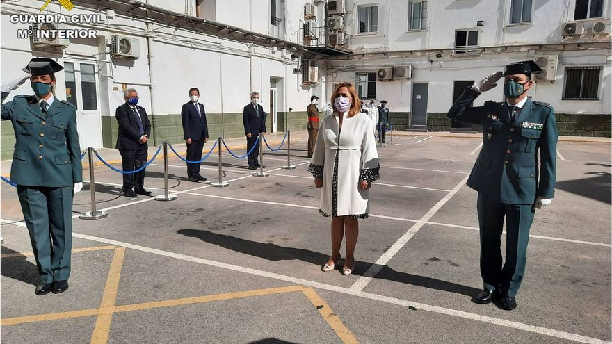 La Guardia Civil celebra su 177 aniversario bajo las restricciones del covid
