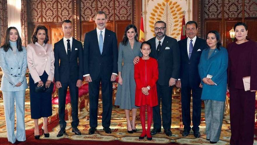Cumbre 'real' en Marruecos