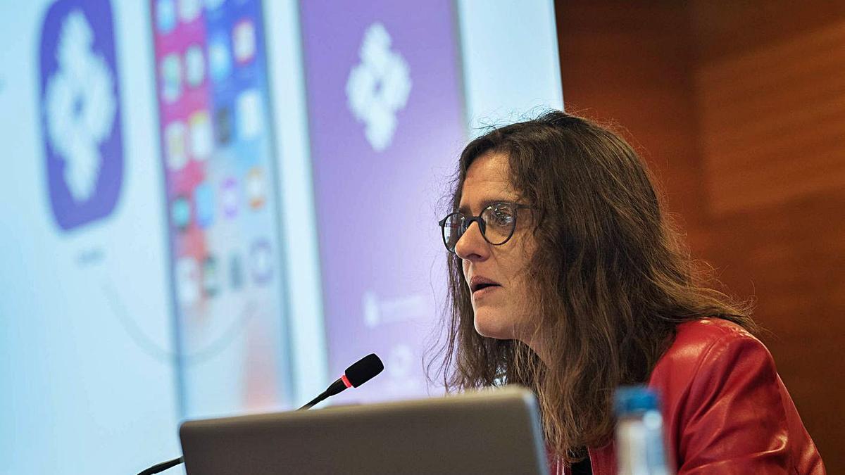 Kika Fumero, directora del Instituto Canario de Igualdad (ICI).