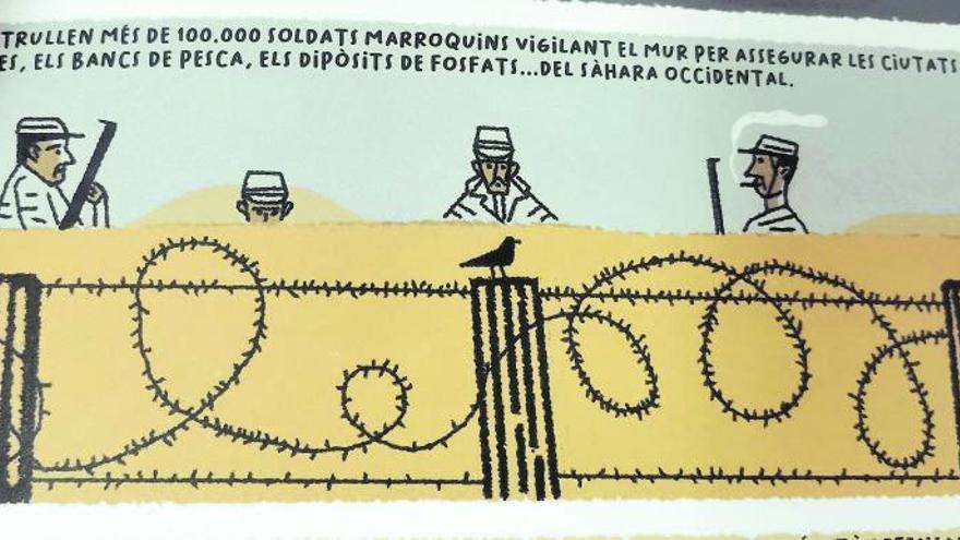 Un còmic retrata el passat, el present i les esperances de futur del poble sahrauí