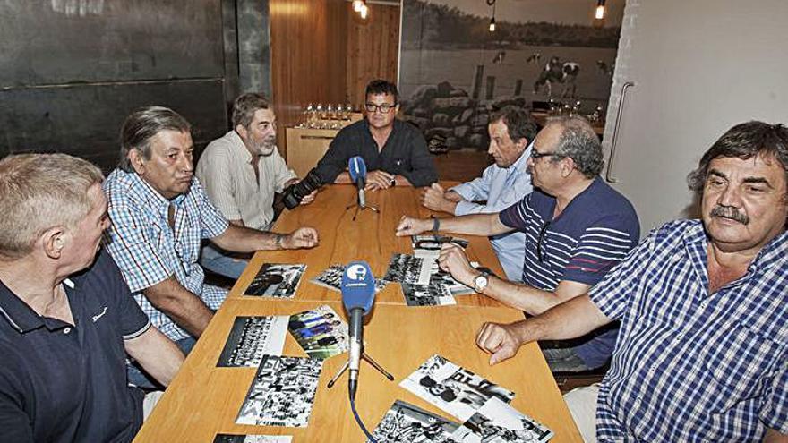 En un programa de Informacióntv sobre veteranos del Hércules con Charles, Giuliano, Toni Cabot, Miguel Hernández, Perramón y Kustudic.