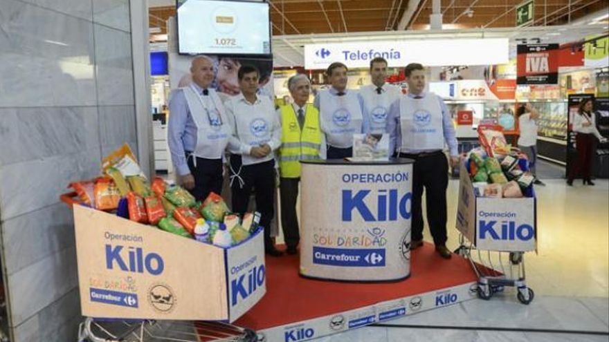 El Banco de Alimentos busca voluntarios para su 'Operación kilo'