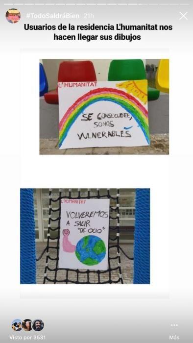 Los niños valencianos dibujan esperanza frente al coronavirus