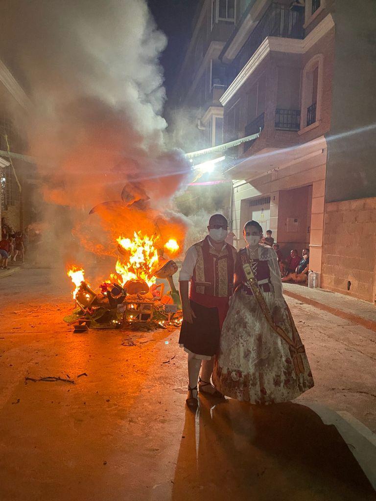 Así han ardido las fallas de l'Horta, el Camp de Morvedre y La Safor