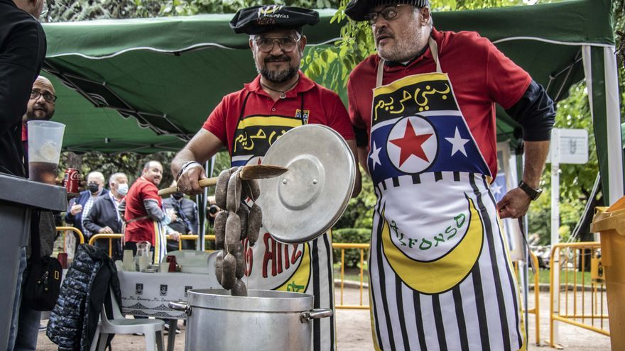 La Fiesta renace a medias en Alcoy