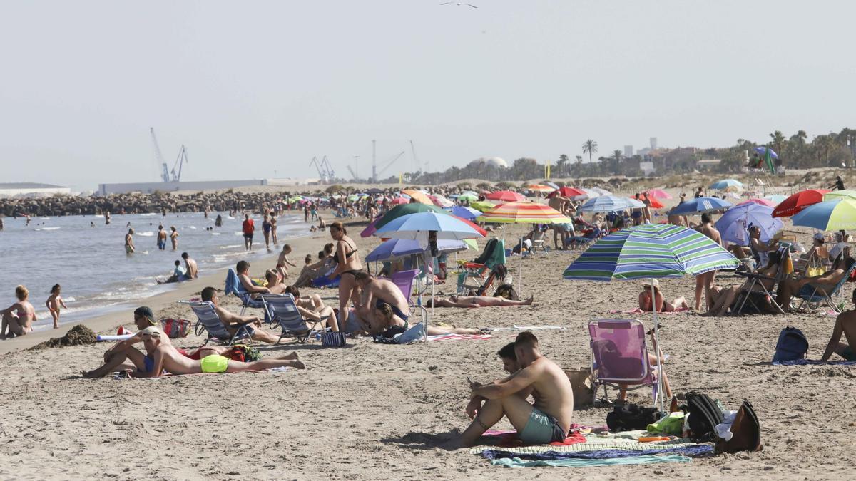 Playa de Castellón.