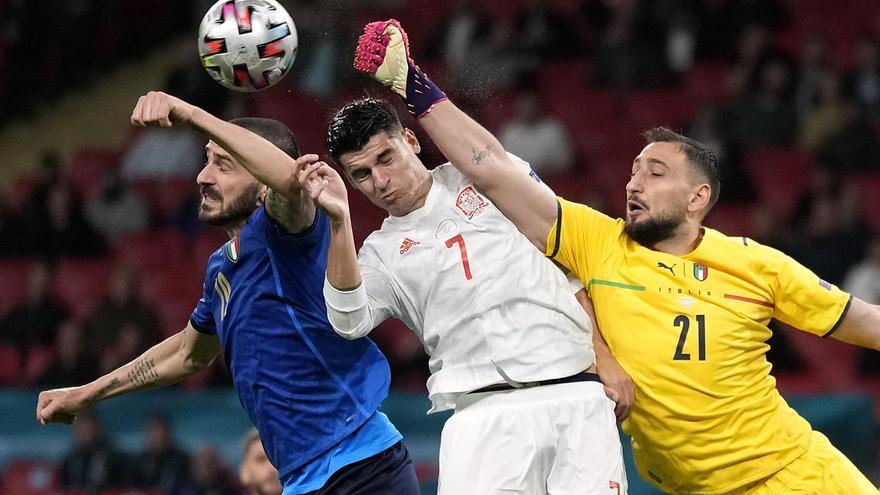 Así ha sido el duelo entre España e Italia