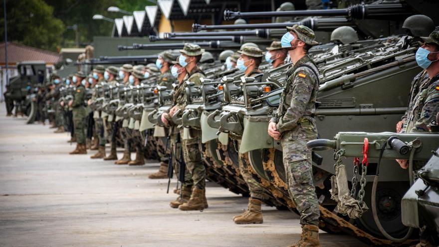 La Brigada Guzmán el Bueno X evalúa la disponibilidad de sus unidades