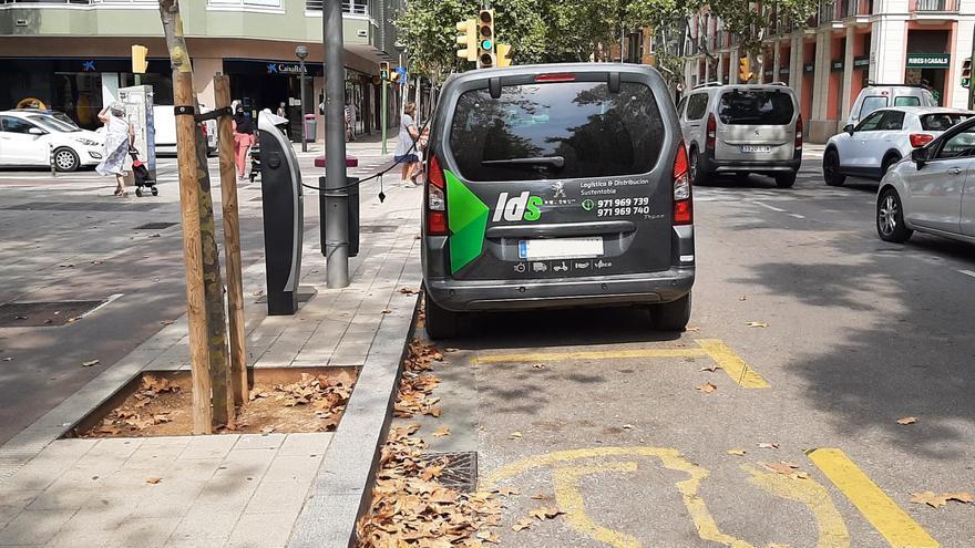 La mitad de los puntos de recarga de coches eléctricos de Mallorca no funciona