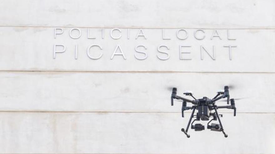 Picassent volverá a utilizar drones para vigilar campos en la campaña agrícola