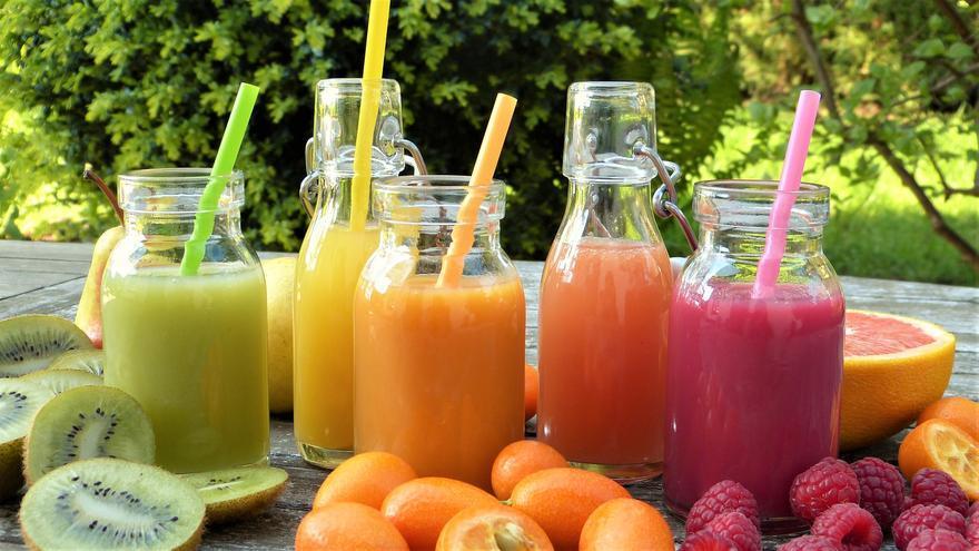 Batidos de frutas y verduras para coger energía y perder peso