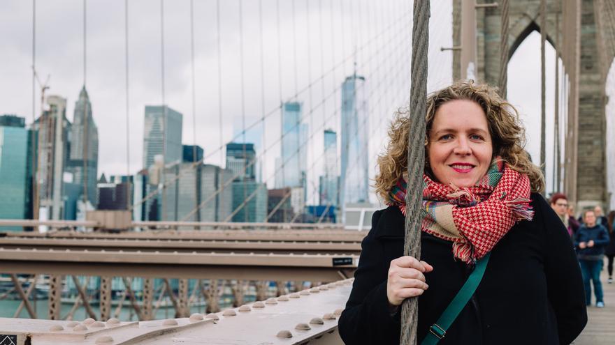 La lucha de una viguesa en Nueva York: lidiando con el párkinson desde los 38 años