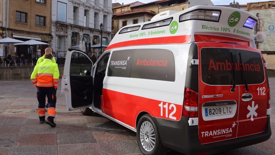 Así es la primera ambulancia eléctrica que circulará por Asturias