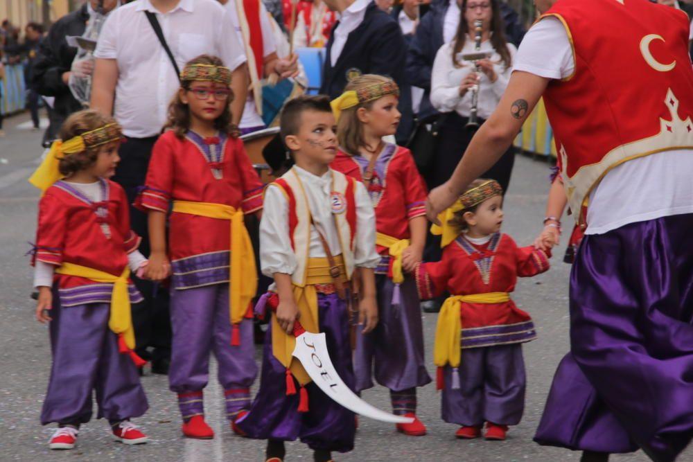 Entrada infantil de las Fiestas de Ibi.